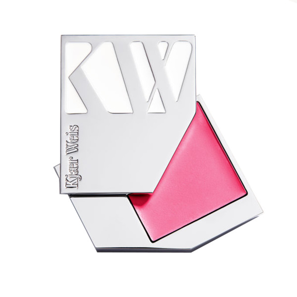 Kj  r weis cream blush makeup compact in happy