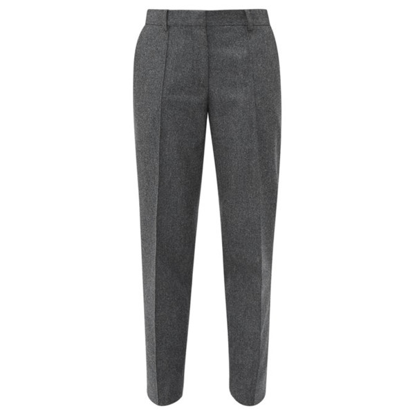 Officine ge  ne  rale roxane felted wool tapered trousers