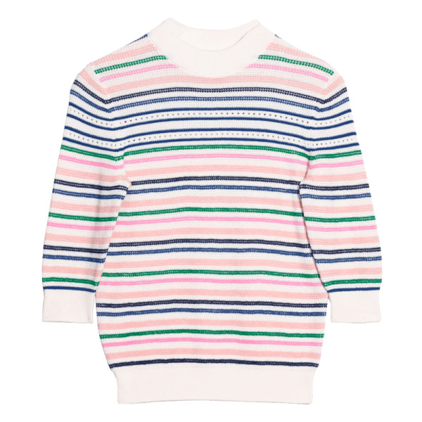 other stories cotton multi stripe sweater