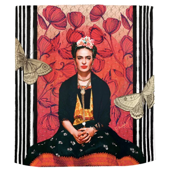 Juliana rumple frida enamorada shower curtain