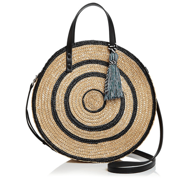 Rebecca minkoff straw circle tote