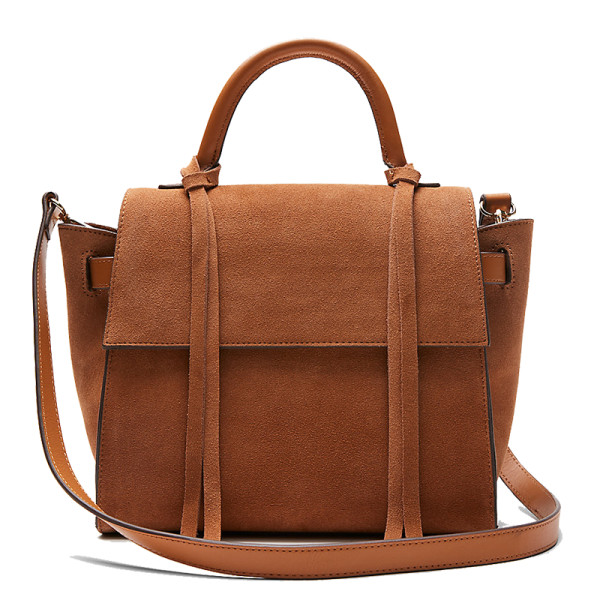Express top handle satchel