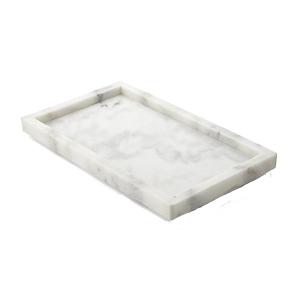 Crate and barrel french kitchen marble rectangle tray