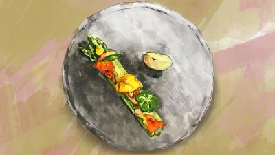 Butter braised asparagus 1200x675 beige