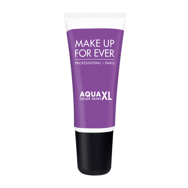 Make up for ever aqua xl color paint shadow in m 90   matte purple