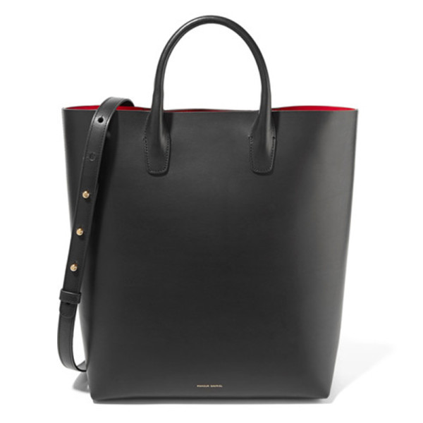 Mansur gavriel north south leather tote