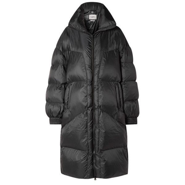 Isabel marant e  toile cray quilted shell coat