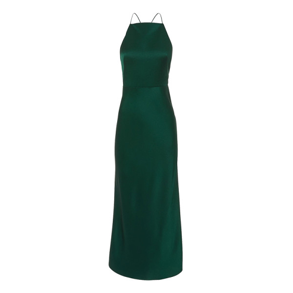 Jason wu green midi gown