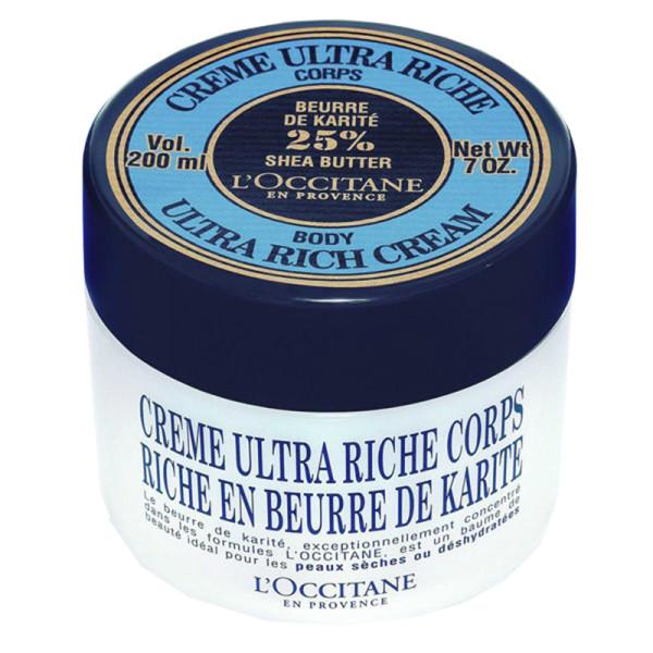 L occitane shea butter ultra rich body cream