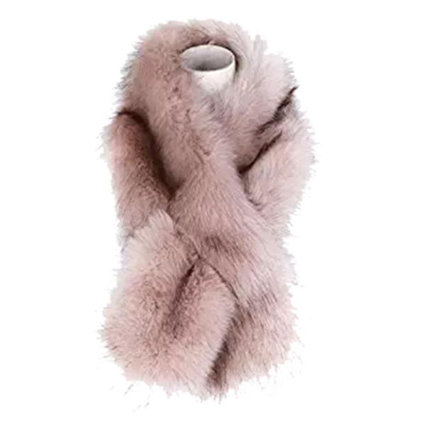 Dikoaina faux fur scarf