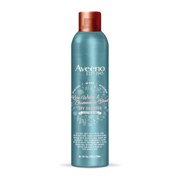Aveeno rose water   chamomile blend dry shampoo