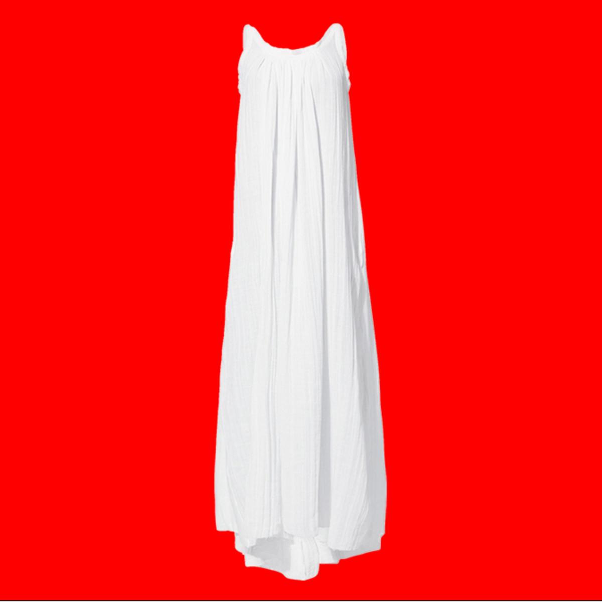 White dress square