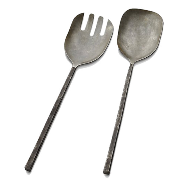Crate and barrel antuco 2 piece serving set