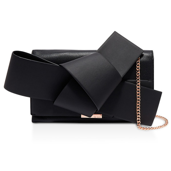 Ted baker giant knot clutch