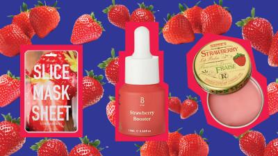 Strawberry cutouts 1200x675