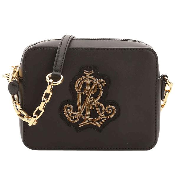 Lauren ralph lauren payton leather crossbody bag