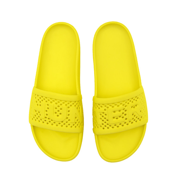 Hunter hunter lightweight molded slides in wader yellow