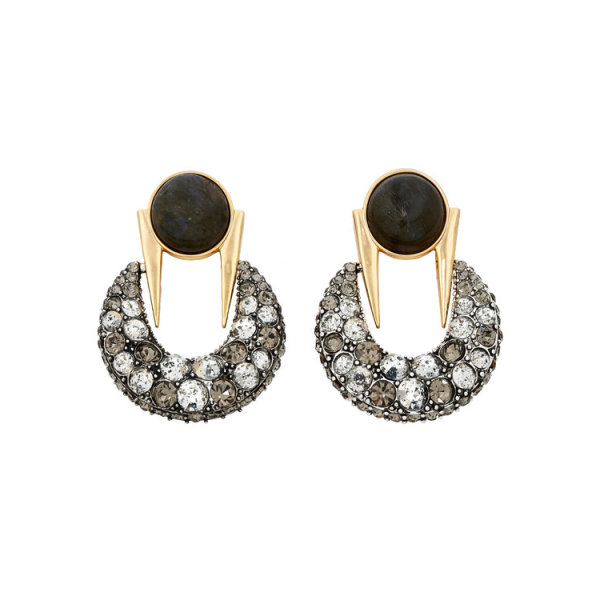 Lulu frost laumiere statement earrings