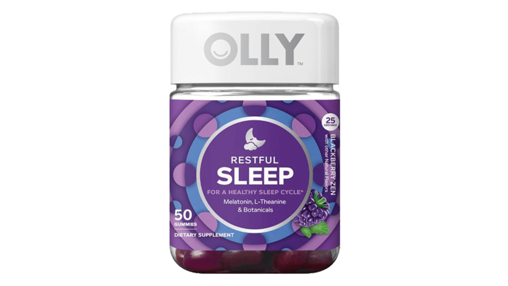 Olly Restful Sleep Zen Vitamin Gummies Story Rain