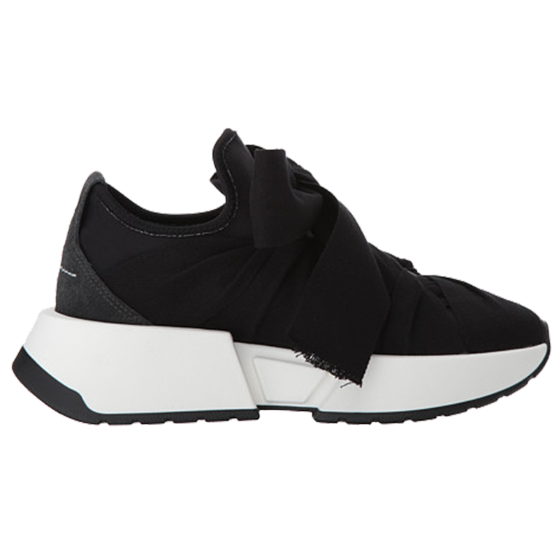 Mm6 maison margiela grosgrain tie trainer