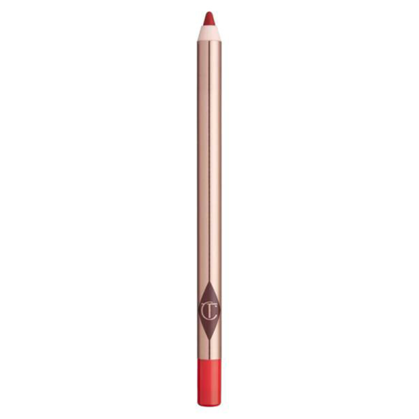 Charlotte tilbury lip cheat  re size   re shape lip liner in kiss  n  tell