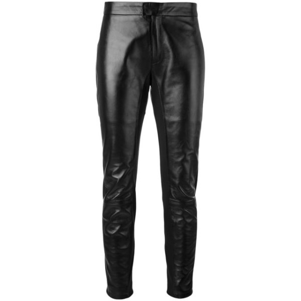 Valentino leather trousers
