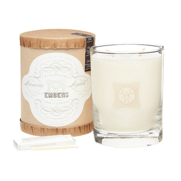 Linnea s lights embers 2 wick soy candle