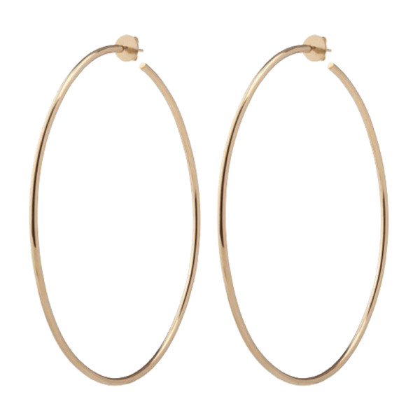 Jennifer fisher 3  solid gold eternity hoops