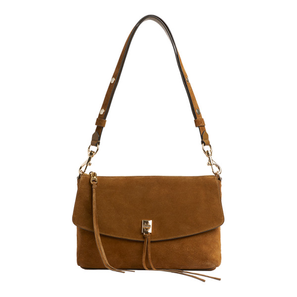 Darren top zip shoulder bag
