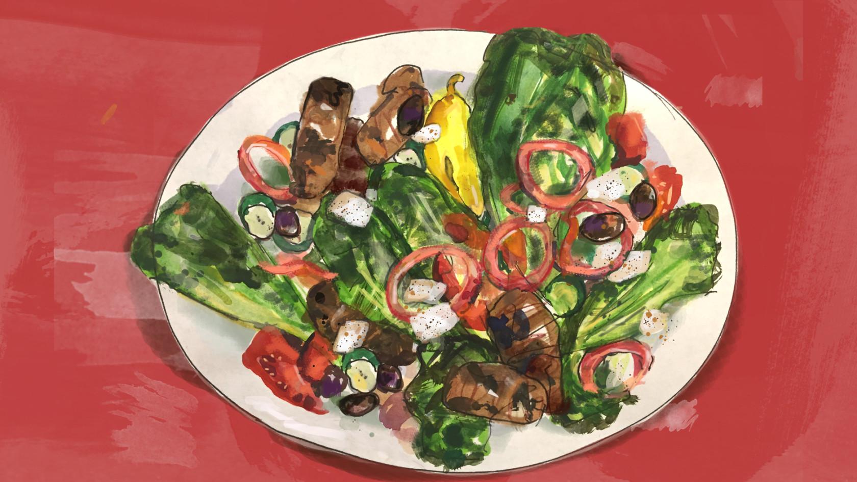 Greek salad  1200x675