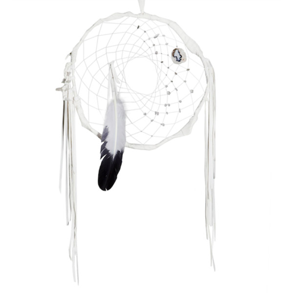 Aurora spirits handmade dreamcatcher  little moon