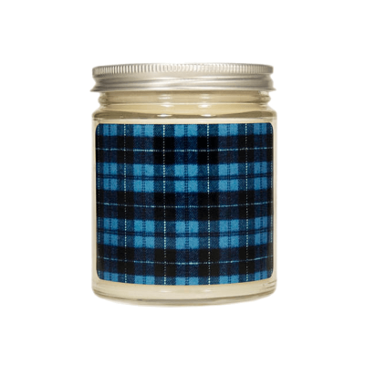 Etsy plaid candle