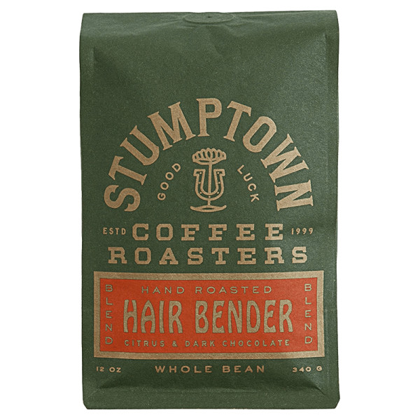 Stumptown hair bender whole bean coffee