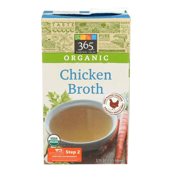 365 everyday value organic low sodium chicken broth