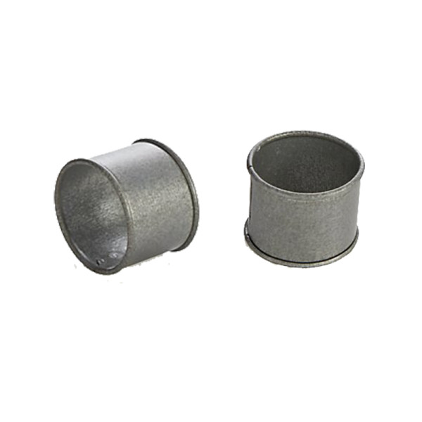 Crate and barrel galvanized iron napkin ring