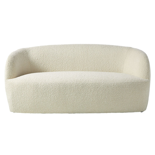 Cb2 gwyneth boucle loverseat