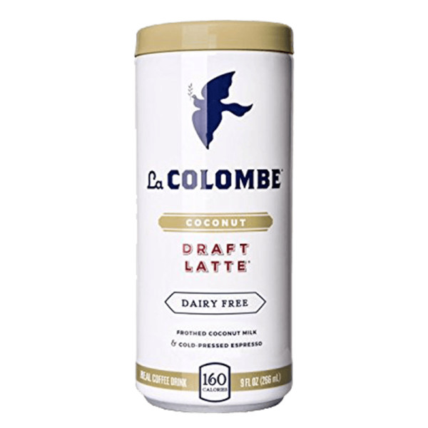 La colombe coconut milk draft latte