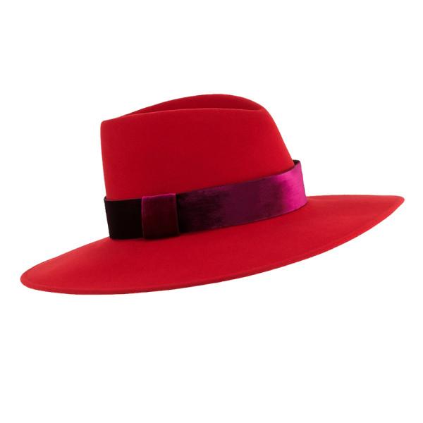 Eugenia kim harlowe wool panama hat w  velvet ribbon