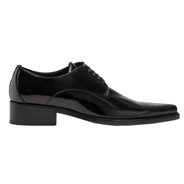 Dolce   gabbana lux calfskin derby shoes