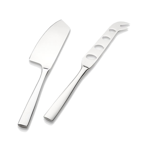 Crate and barrel couture 2 piece cheese knife set