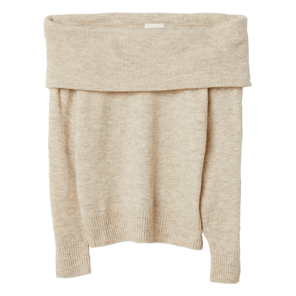H m off the shoulder sweater