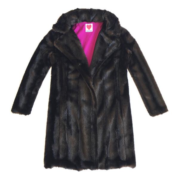 Vintage mink coat in mahogany