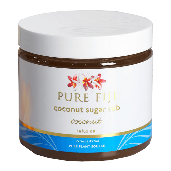 Pure fiji  coconut sugar rub coconut