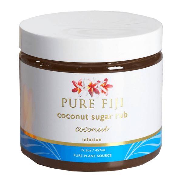 Pure fiji  coconut sugar rub coconut