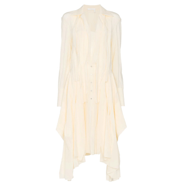 Chloe flou shirt dress