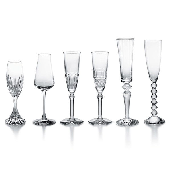 Baccarat 6 piece bubbles in a box set