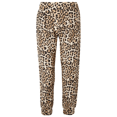 Atm anthony thoas melillo leopard print silk charmeuse track pants