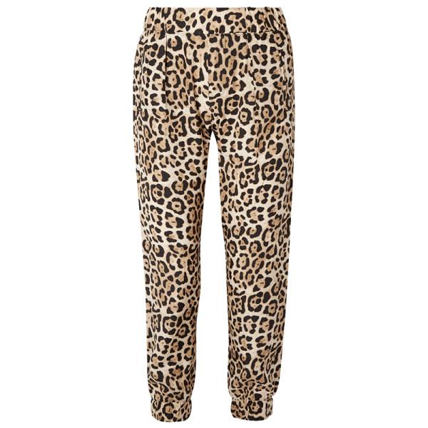 Atm anthony thoas melillo leopard print silk charmeuse track pants