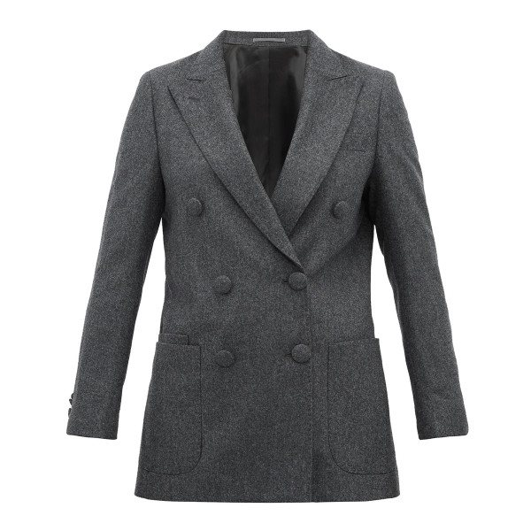 Officine ge  ne  rale manon double breasted wool blazer