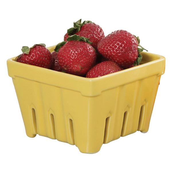 Exultimate ceramic fruit stand berry basket